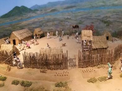 миниатюра из музея истории Пекче
