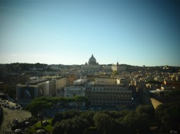 Vatican (вид с Castel Sant'Angelo)