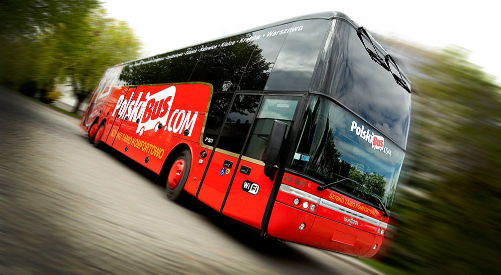 на автобусе по европе